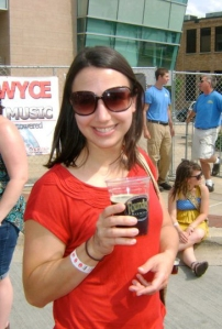 Me at Founder's Fest a couple of years ago. Life doesn't get much better.