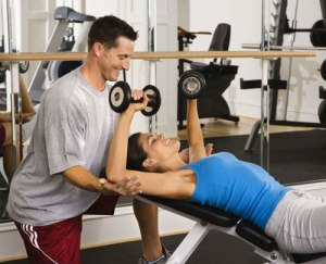 """If you're looking for some really cheesy photos, try doing a Google image search for """"personal trainer."""""""