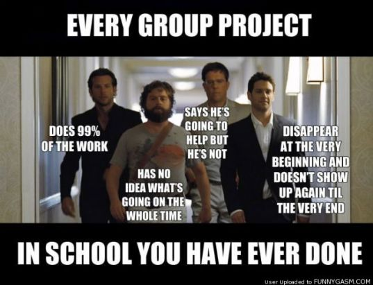 Image result for group project gif