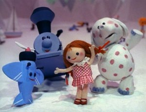 (The Island of Misfit Toys...duh)