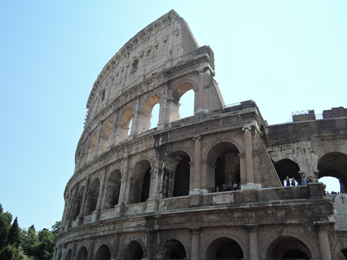 The Colosseum! Obviously.
